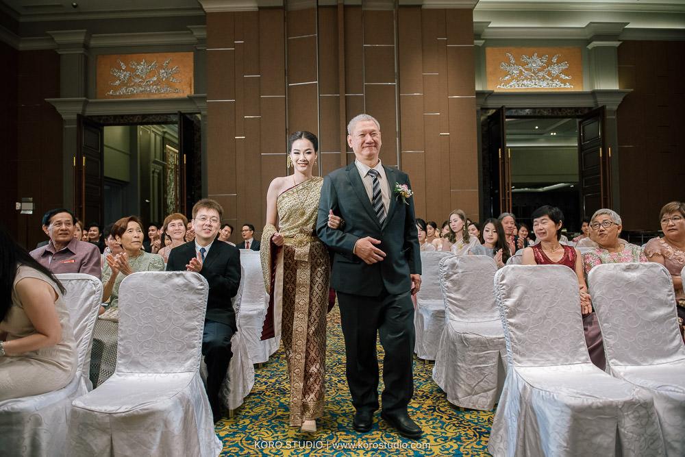 Berkeley Hote Bangkokl Wedding Ceremony Kim and Por