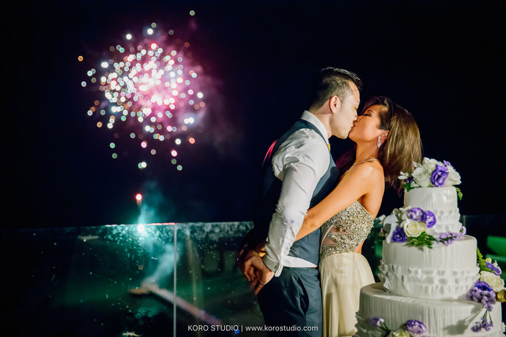 InterContinental Samui Baan Taling Ngam Resort Wedding Dinner and Party Lana and Anthony from USA