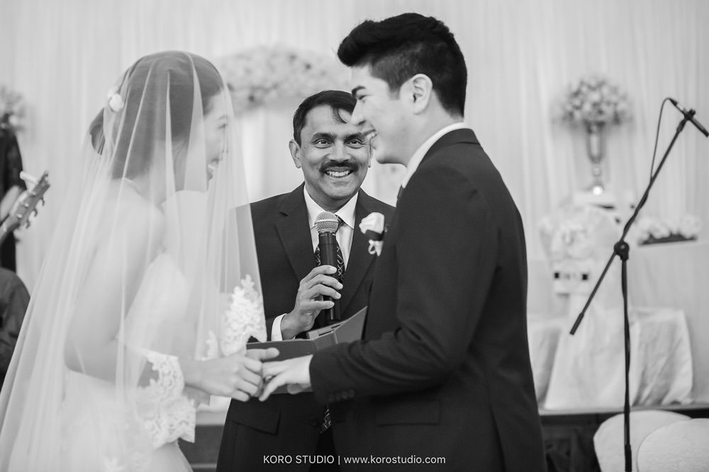 CHIJMES Wedding Hall - Church Wedding in Singapore of Anjolene and Enrico