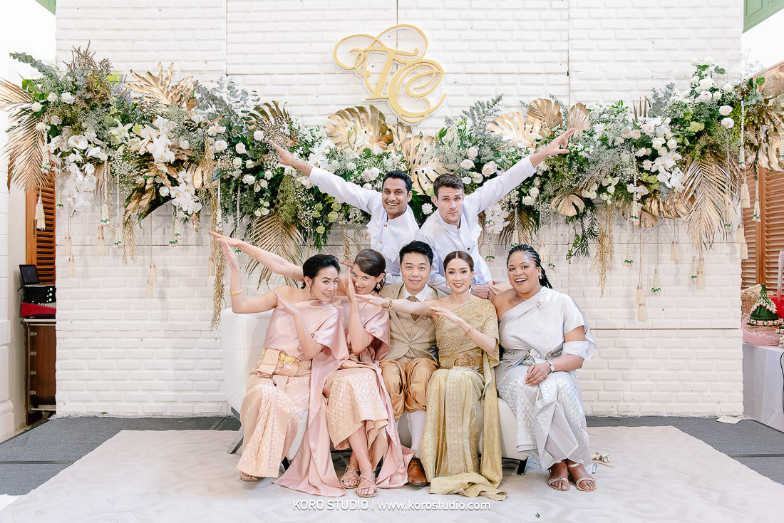 korostudio wedding ceremony the house on sathorn tan 103 The House on Sathorn Thai Wedding Ceremony Tan and Christ from London