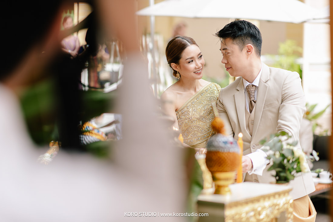 korostudio wedding ceremony the house on sathorn tan 107 The House on Sathorn Thai Wedding Ceremony Tan and Christ from London