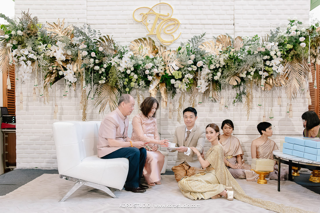 korostudio wedding ceremony the house on sathorn tan 92 The House on Sathorn Thai Wedding Ceremony Tan and Christ from London