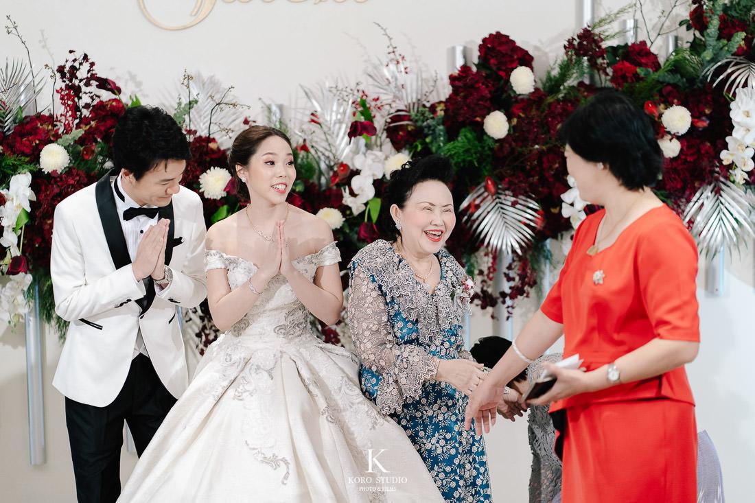 Westin Grande Sukhumvit Wedding Reception Mook and Taichi