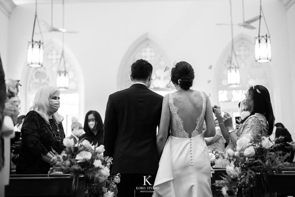 งานแต่งโบสถ์ คริสตจักรสืบสัมพันธวงศ์ พิธีแต่งงานคริสต์